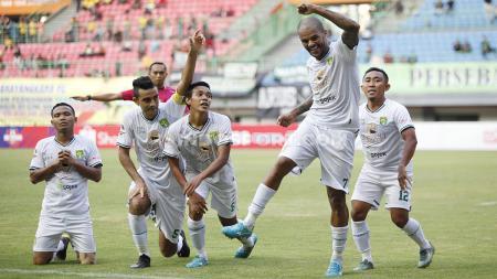 David da Silva berhasil mencetak gol di laga debutnya bersama Persebaya Surabaya di Liga 1 2019 - INDOSPORT