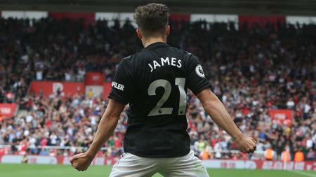 Klub Liga Inggris, Manchester United, kemungkinan besar akan membuang Daniel James jika nanti mendapatkan Jadon Sancho. - INDOSPORT