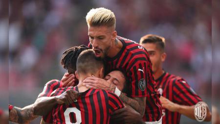 AC Milan tampaknya bisa selamat di Serie A Liga Italia 2019-2020 dengan cara menjual tiga pemainnya. - INDOSPORT