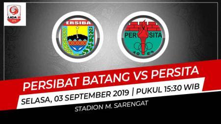 Prediksi Persibat Batang vs Persita Tangerang di Liga 2 2019. - INDOSPORT