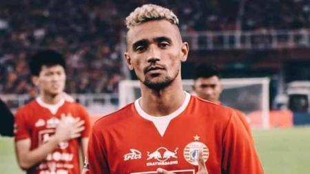 Gelandang milik Persija Jakarta, Bruno Matos. - INDOSPORT