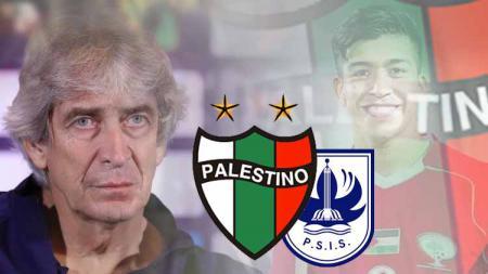Palestino, PSIS Semarang, Manuel Pellegrini dan Jonathan Cantillana - INDOSPORT
