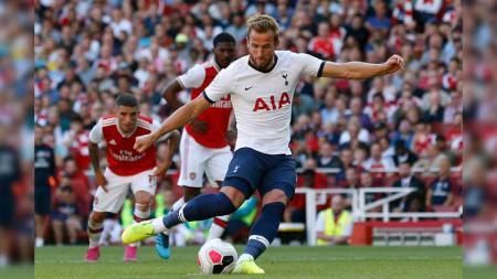 Harry Kane diyakini akan pindah ke Manchester City jika memilih hengkang dari Tottenham Hotspur dan tetap tinggal di Inggris - INDOSPORT