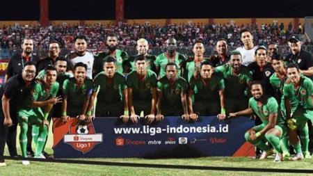 Skuat Kalteng Putra di Liga 1 2019. - INDOSPORT