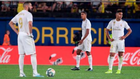 Real Madrid kemungkinan ditinggal banyak pemainnya saat jeda sepak bola internasional pekan ini. - INDOSPORT