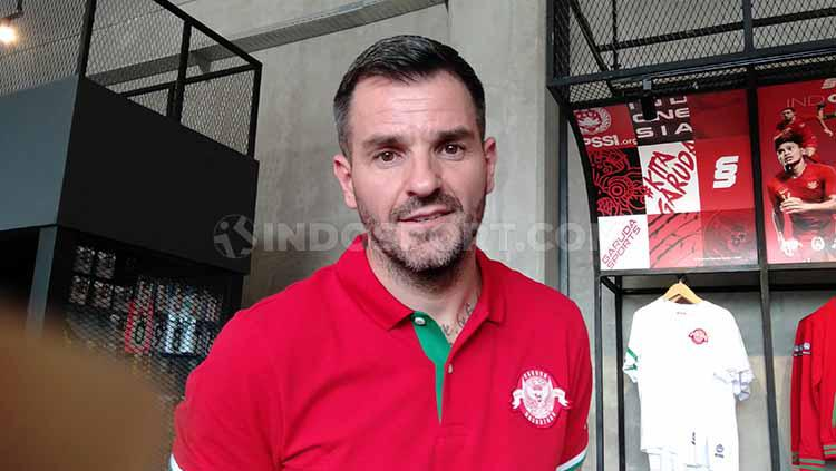 Simon McMenemy, Pelatih Timnas Indonesia Senior. Copyright: Shintya Anya Maharani/INDOSPORT