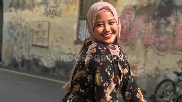 Artis Malaysia, Wan Azlyn. Copyright: Arif Yahya/INDOSPORT