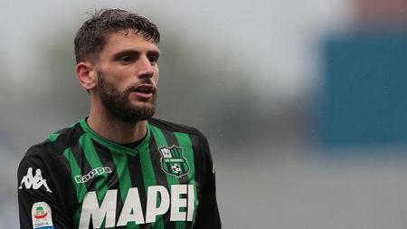 Domenico Berardi, pemain Sassuolo. - INDOSPORT