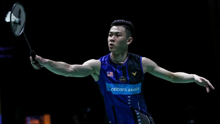 Tunggal putra Malaysia, Lee Zii Jia. Copyright: Shi Tang/Getty Images