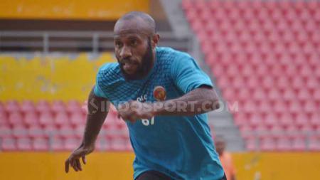 Winger andalan Sriwijaya FC Yohanis Nabar. - INDOSPORT