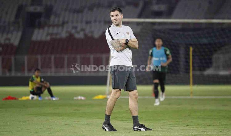 Pelatih timnas Indonesia, Simon McMenemy Copyright: Herry Ibrahim/INDOSPORT