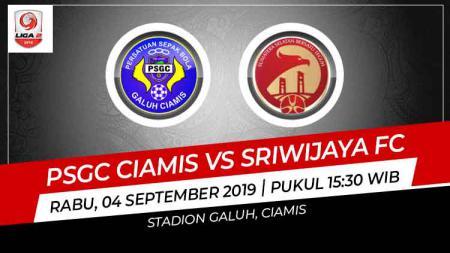 Prediksi PSGC Ciamis vs Sriwijaya FC di Liga 2 2019. - INDOSPORT