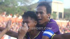 Indosport - Pemain Persik Kediri, Septian Satria Bagaskara.