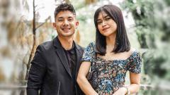 Indosport - Kim Jeffrey Kurniawan dan sang kekasih, Elisa Novia.