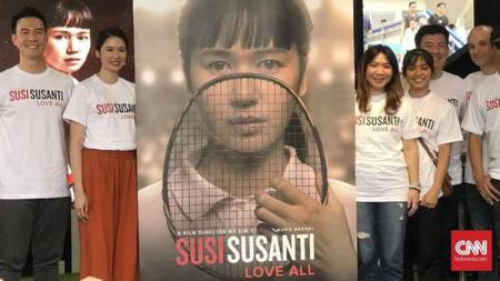 Film 'Susi Susanti - Love All' diharapkan bisa memotivasi generasi muda. Foto: CNN Indonesia/Christie Stefanie - INDOSPORT
