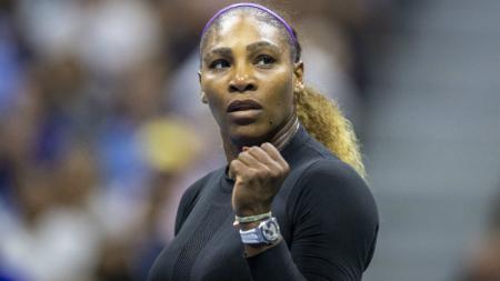Serena Williams di perempatfinal AS Terbuka 2019. - INDOSPORT