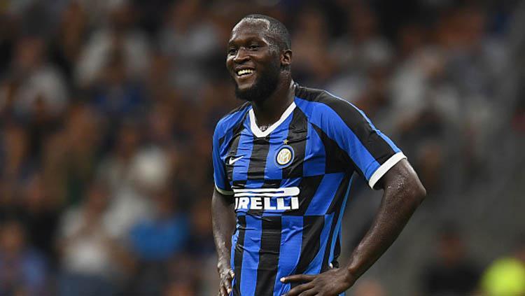 Romelu Lukaku, penyerang Inter Milan.jpg Copyright: Claudio Villa - Inter/Inter via Getty Images