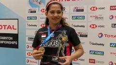 Indosport - Leani Ratri Oktila, pemain para bulutangkis Indonesia.