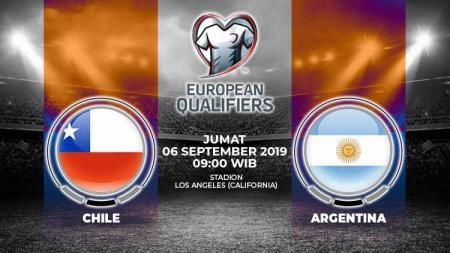 Pertandingan Chile vs Argentina. - INDOSPORT
