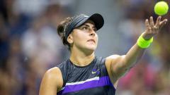 Indosport - Petenis Kanada, Bianca Andreescu pada pertandingan Perempat Final tunggal Putri Turnamen Tenis Terbuka AS 2019, Rabu (04/09/2019).