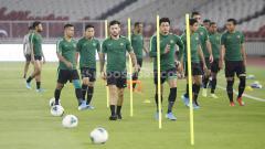 Indosport - Ada empat pemain Timnas Indonesia yang sudah berkali-kali tanding menghadapi Thailand.