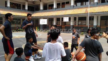 Rangers Basketball Academy, akademi basket milik Christian Ronaldo Sitepu, Amin Prihantono, dan Bonanza Siregar. - INDOSPORT