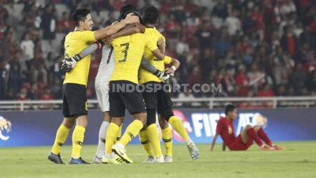 Para pemain Timnas Malaysia bakal punya keuntungan saat tandang menghadapi Vietnam di Kualifikasi Piala Dunia 2022. - INDOSPORT