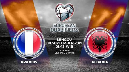 Berikut prediksi laga Kualifikasi Euro 2020 Prancis vs Albania. - INDOSPORT