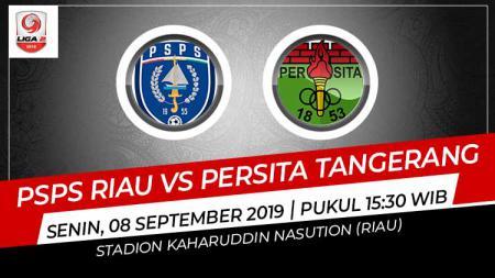Prediksi pertandingan pekan ke-15 kompetisi sepak bola Liga 2 2019 antara PSPS Riau menghadapi Persita Tangerang yang akan digelar di Stadion Kaharudin Nasution, Pekanbaru, Minggu (08/09/19). - INDOSPORT