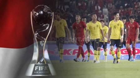 Kerusuhan Timnas Indonesia vs Malaysia ancam peluang jadi tuan rumah Piala Dunia U-20 2021 - INDOSPORT
