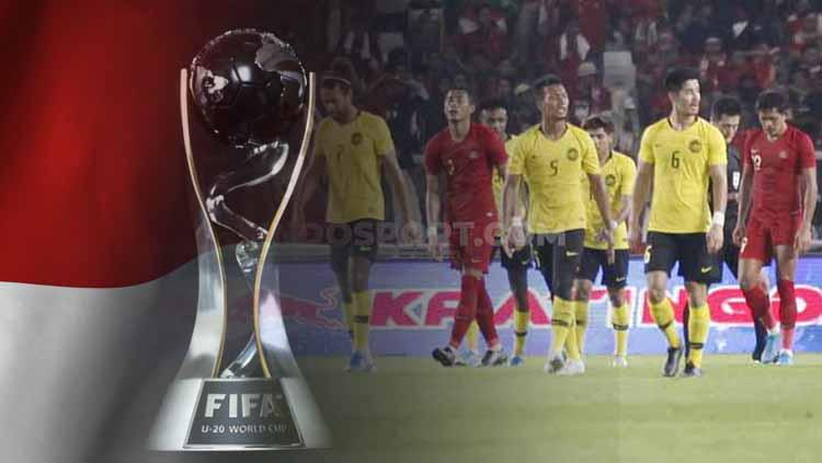 Kerusuhan Timnas Indonesia vs Malaysia ancam peluang jadi tuan rumah Piala Dunia U-20 2021 Copyright: INDOSPORT