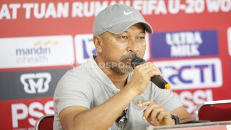 Pelatih Indonesia U-19, Fakhri Husaini mengatakan skuatnya baru akan berkumpul kembali pada 25 September 2019. - INDOSPORT