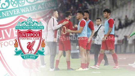 Timnas Indonesia yang harus banyak belajar sabar dan betapa pentingnya proses menjadi juara dari Liverpool hingga Vietnam. - INDOSPORT