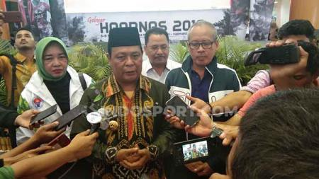 Buka Gebyar Haornas 2019, Gubernur Kalimantan Selatan sentil Timnas Indonesia keok dari Malaysia. - INDOSPORT