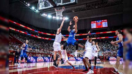 Republik Ceko merupakan tim debutan di ajang di FIBA World Cup 2019, siap berlaga lawan Yunani, Senin (09/09/19). - INDOSPORT