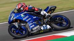 Indosport - Galang Hendra Pratama, Pembalap Semakin di Depan Biblion Motoxracing