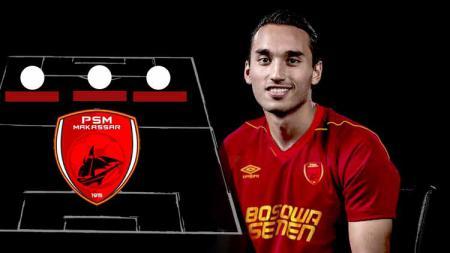 Berikut kombinasi starting XI dari pertandingan Liga 1 2019 antara Persebaya Surabaya vs PSM Makassar yang sama-sama 'digerogoti' Timnas Indonesia. - INDOSPORT
