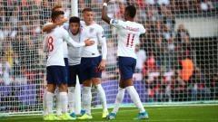 Indosport - Timnas Inggris mencatatkan torehan fantastis dengan menjadi negara yang belum terkalahkan selama 42 laga kualifikasi Euro dan Piala Dunia