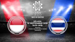 Indosport - Pertandingan Indonesia vs Thailand.