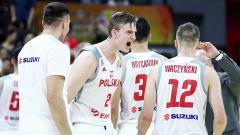 Indosport - Timnas Basket Polandia di FIBA World Cup 2019.