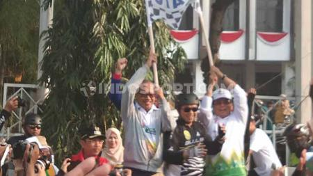 Libatkan peserta disabilitas tuli, gowes nusantara Banjarmasin terasa spesial. - INDOSPORT