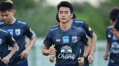 Indosport - Gelandang Timnas Thailand, Anon Amornlerdsak.