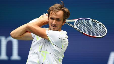 Petenis asal Rusia, Daniil Medvedev menyampaikan curahan hatinya setelah gagal meraih gelar Grand Slam perdananya di AS Terbuka 2019. - INDOSPORT