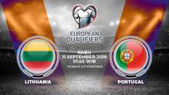Indosport - Prediksi Timnas Lithuania vs Portugal.