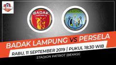 Indosport - Laga tunda pekan ke-12 Shopee Liga 1 antara Badak Lampung melawan Persela Lamongan, Rabu (11/9/19), bisa disaksikan lewat live streaming di Vidio.com