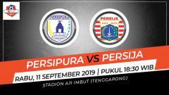 Indosport - Laga tunda pekan ke-11 Shopee Liga 1 antara Persipura Jayapura melawan Persija Jakarta, Rabu (11/9/19), bisa disaksikan lewat live streaming di Vidio.com.