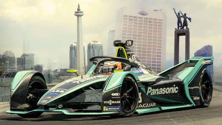 Ilustrasi Formula E jadi di Jakarta. Copyright: Lev Radin/Pacific Press/LightRocket via Getty Images/Grafis: Eli Suhaeli/INDOSPORT