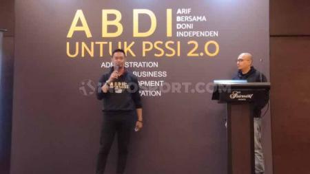 Komite Banding Pemilihan PSSI kembali tidak meloloskan Doni Setiabudi (kiri) sebagai Wacaketum PSSI, Jumat (18/10/19). - INDOSPORT