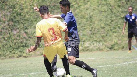 Uji coba Borneo FC vs Persekam Metro FC. - INDOSPORT