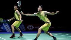 Indosport - Pasangan ganda putra Goh V Shem/Tan Wee Kiong mengaku sudah pesimis dengan peluang mereka melaju ke Olimpiade Tokyo 2020.